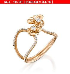 Items similar to Unique Diamond butterfly engagement ring Rose Gold diamond infinity ring Genuine Diamond Ring double Ring For Women Elegant Dainty ring on Etsy Diamond Anniversary Rings, Diamond Rings, Diamond Jewelry, Leaf Engagement Ring, Vintage Engagement Rings, Engagement Jewelry, Engagement Ideas, Rapunzel, Black Hills Gold Jewelry