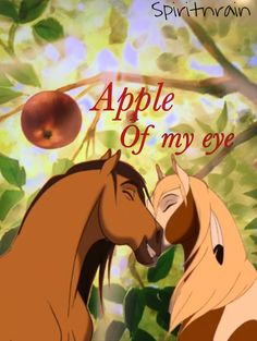 """A Spirit wallpaper I made! I am happy for you to use it, just give me credit and if you could leave a comment if you are using it! ~Spirit, Rain, """"N""""Sky (spiritnrain) Spirit And Rain, Horse Animation, Writing Paper, Heartland, Just Giving, I Am Happy, Dreamworks, Future Husband, Anime Couples"""
