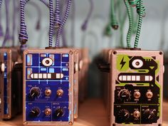 Bleep Labs Thingamagoop is a handmade, analog + digital synthesizer you control with light.