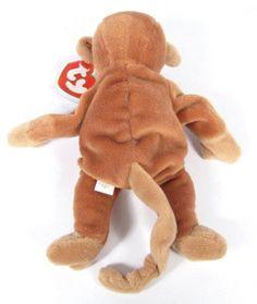 Conquering the world back in the 1990s, the Beanie Babies didn't have to try hard to captivate the hearts no... -  Nana the Monkey Beanie Baby2 . Discover More at: http://www.topteny.com/top-10-rarest-beanie-babies-world/