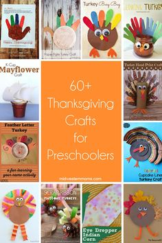 Thanksgiving Crafts for Preschoolers