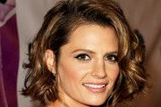 Stana Katic Short Hairstyles