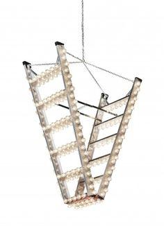Studio Bertjan Pot • 'Downstairs' chandelier 2012. (photography: Frank Tielemans)