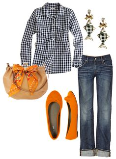 GaGa for Gingham...  Pinned from lifes-a-journal.com