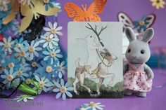 Knight of Wands - The Rabbit Tarot