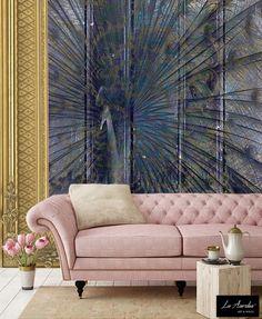 Elegance - Variation Framed - Wallpaper by La Aurelia