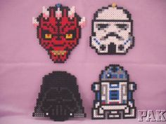 Large Star Wars Coasters/Magnets or Hangings.Darth Maul,Vader,Stormtrooper,R2D2 | eBay
