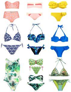 A rayures, uni, esprit nineties ou volanté, voici 100 maillots pour trouver celui de votre été !  http://www.elle.fr/Mode/Le-guide-shopping/Printemps-Ete-2014/100-maillots-pour-etre-la-plus-belle-de-la-plage