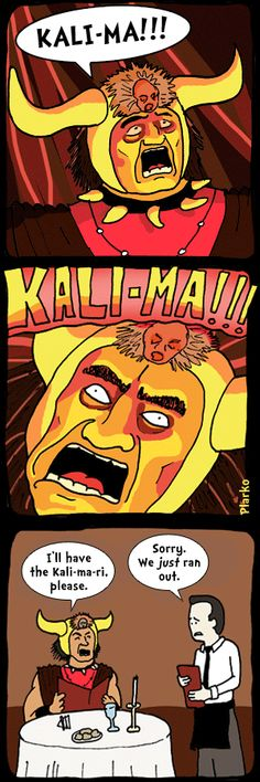 """Uncover the mystery behind the word """"Kali-ma"""" Kali Ma, Just Run, Funny Comics, The Funny, Funny Pictures, Memes, Heart, Funny Stuff, Mystery"""