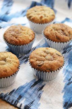 cinnamon sugar banana nut muffins
