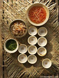 Bánh bèo bì Mỹ Tho Client: Phương Nam Book Photograph by: Wing Chan at BITE Studio Food & Prop Stylist: Tiến Nguyên