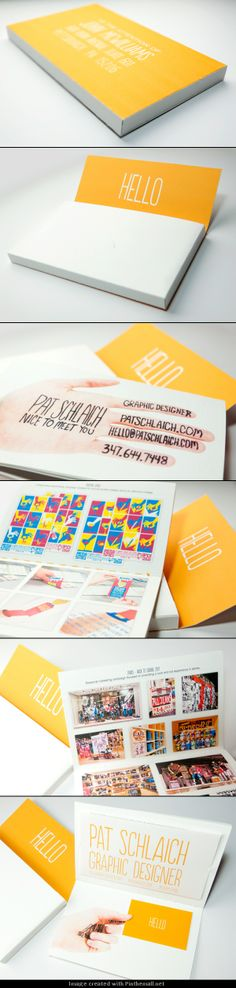 Nice use of color and handwritten text on this promo item. #promodesign #creativepromos