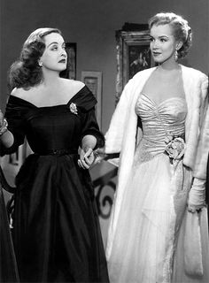 All About Eve.. (Joseph L. Mankiewicz 1950) Bette Davis & Marilyn Monroe