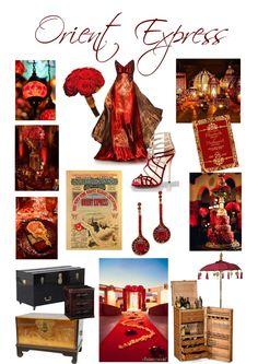 Orient Express Themed Wedding Inspiration
