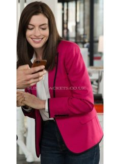 The Intern Anne Hathaway (Jules Ostin) Women Blazer