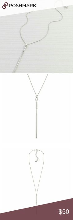 "🆕 SILPADA NECKLACE 🆕 NWT, NIB "" Waters Edge"" sterling silver lariat necklace 16""+2"" Silpada Jewelry Necklaces"