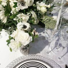 cool Vancouver wedding The #wedluxeshow is about to begin and we are absolutely in love with the romantic florals created by our friends at @coverscouture and of course our @Katespadeny dinnerware from @hudsonsbay #countdowndoestoronto #toronto #countdownevents #wedluxe #weddings #flowers #bohemian #torontoweddingplanner #torontoweddings #yyzweddings #yyz by @countdownevents  #vancouverflorist #vancouverwedding #vancouverwedding