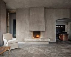 Axel Vervoordt does it again. Beautiful modern/transitional/traditional room!!