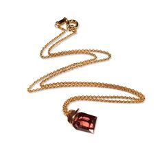 www.ORRO.co.uk - Annette Ehinger - Gold Tourmaline Necklace - ORRO Contemporary Jewellery Glasgow
