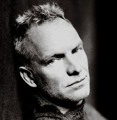 Sting - He really does not even have to sing.  That's just icing on the cake.