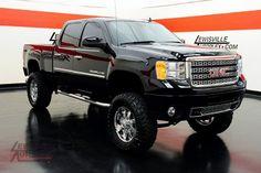 2012 GMC Sierra Denali This is his Dream truck! Help him Lord! Chevy Pickup Trucks, Lifted Chevy, Gm Trucks, Lifted Trucks, Gmc Denali, Denali Hd, Gmc 2500, Gmc Sierra 2500hd, Chevy Girl