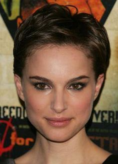 Natalie Portman's pixie is also nice, but I'm not sure how my curly hair would work with it.