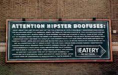 hipster restaurant logo -