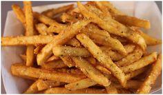 Papas fritas caseras supercrujientes sin una gota de aceite