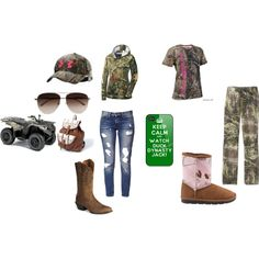 """Love all of it but the pink """"camo"""" ugg boot"""