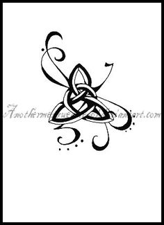 Tattoo for the future. Celebrate my Celtic heritage. Celtic love knot