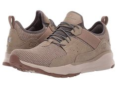SKECHERS Relven - Arkson Men's Lace up casual Shoes Classic Sneakers, Best Sneakers, Sneakers Nike, Sport Sandals, Sport Wear, Signature Logo, Nike Huarache, Stretch Lace, Stretch Fabric