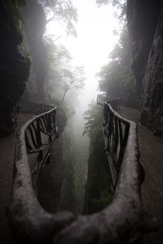 Zhangjiajie National Forest Park - Tianmenshan, Hunan, China