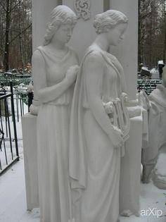 скульптура из мрамора на могиле шандора: скульптура, мифология, статуя, мрамор, резьба #sculpture #mythology #statue #image #figure #marble #thread #carving arXip.com