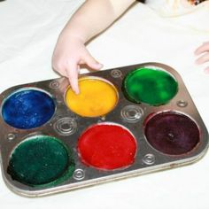 Edible Sensory Paint