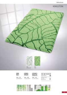 Designed and produced by well-known German brand Kleine Wolke, established in and is backed by their quality guarantee. Individually tufted and made of long-wearing, durable polyacrylic yarn. Bath Rugs, Kingston, German, Design, Home Decor, Clouds, Deutsch, Decoration Home, German Language