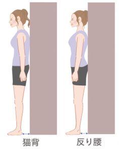 体幹が鍛えられることで徐々に正しい姿勢になるので、壁立ちで日々チェックしましょう♪