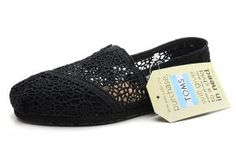 $29.00Crochet Black Womens Classics Toms Shoes [toms-118] :