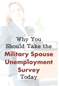 Consider participating in the Military Spouse Unemployment Survey from MOAA and Syracuse University. (Open September 16 - October 16) - MilitaryAvenue.com