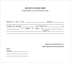 Rent Receipt Template Pdf Best Of Rent Receipt with Revenue Stamp Pdf – Lscign