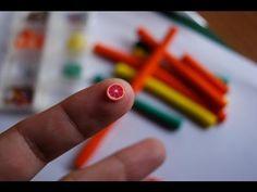 Blood Orange Cane: Polymer Clay - YouTube