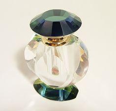 Vintage Lead Crystal Perfume Decanter