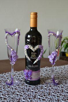 Wine Glass Combo Purple