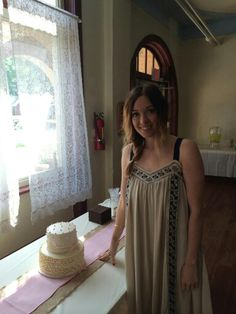 Ashley & the cake