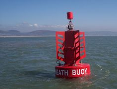 Buoy marking the channel into the Port of Neath