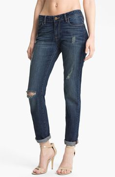 Paige Denim Jimmy Jimmy Distressed Boyfriend Jeans (Tawni Destruction) | Nordstrom