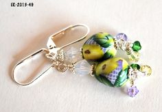 Earrings for Women, Dangle Earrings, Handmade #Earrings , Designer Earrings, Flower Earrings