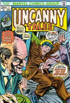 Uncanny Tales 1 - Kane cover