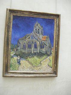 Van Gogh, Church at Anvers, Musee d'Orsay