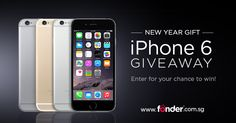 Fonder is giving away 10 x iPhone 6 for this New Year Campaign - CLICK HERE to sign up and join the lucky draw!