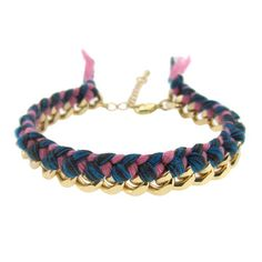 Braided Bracelet Denim  by Ossington Avenue